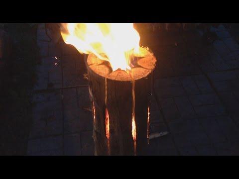Как сделать таёжная свеча