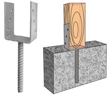 Опоры на бетоне бетонная смесь плотность песка