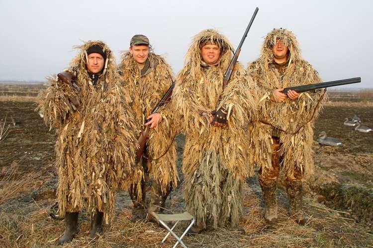 Как сделать лешего для охоты 184