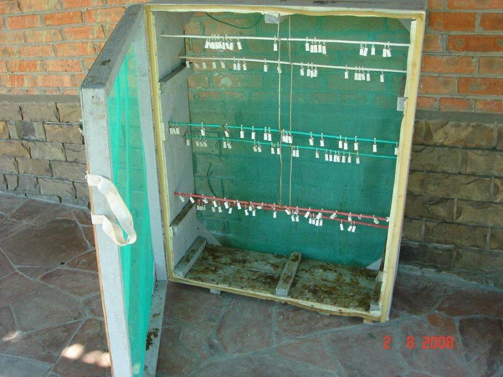 Ящик для сушки рыбы своими руками с размерами