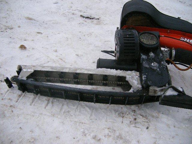 Гусеницы из покрышки для снегохода своими руками