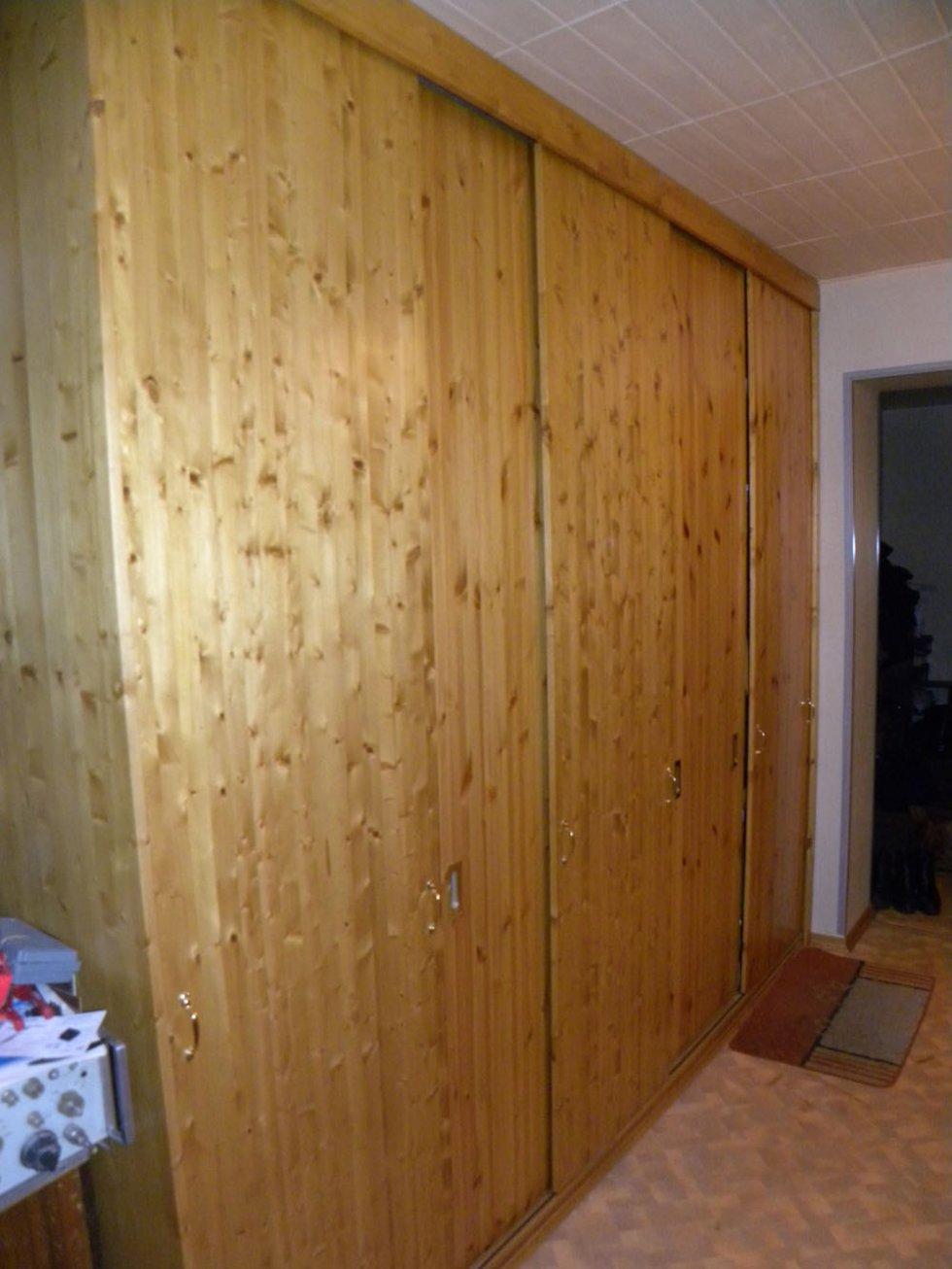 Как сделать дверцу для шкафа из мебельного щита8