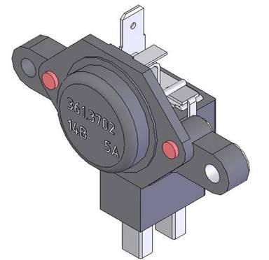 Электрическая схема генератора: 1 - электронный регулятор напряжения; 2 - обмотка возбуждения; 3 - контактное кольцо.