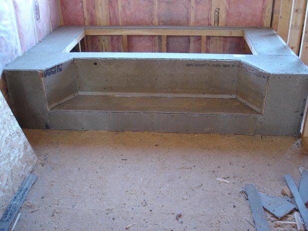 Ванна из цемента своими руками 54