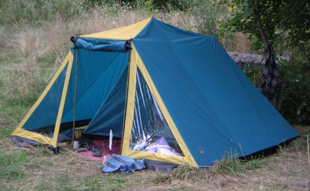 Как Правильно Поставить Палатку Старого Образца - фото 5