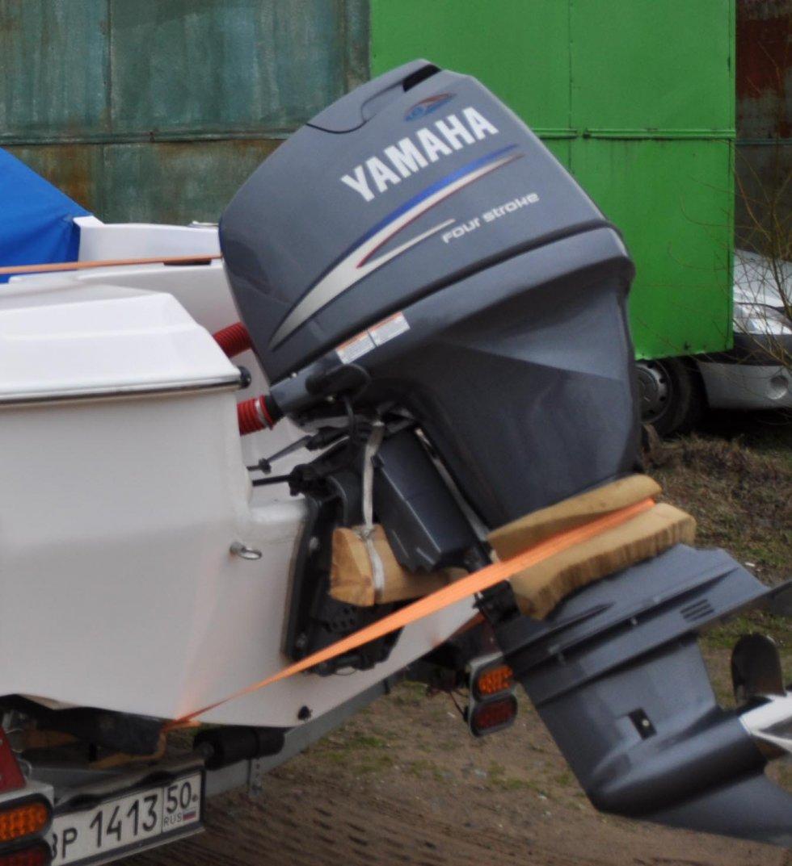 Перевозка лодочного мотора своими руками