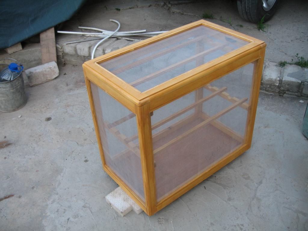 Как сделать ящики для сушки рыбы 84