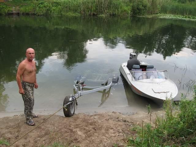 квадроцикл для спуска лодки