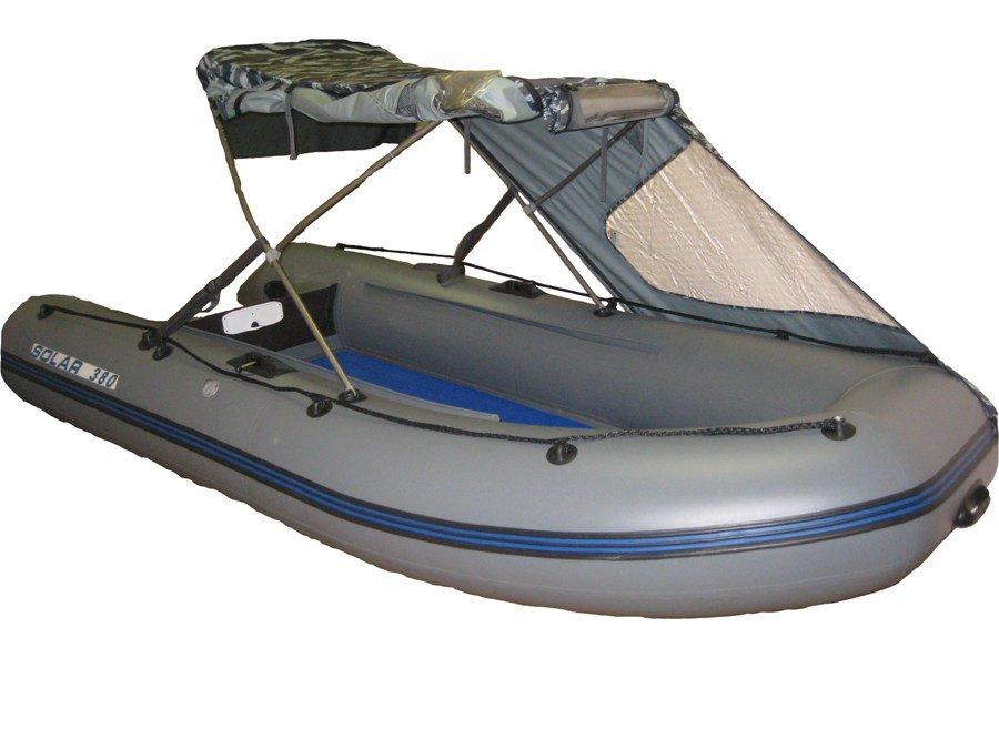 Лодка пвх тент своими руками