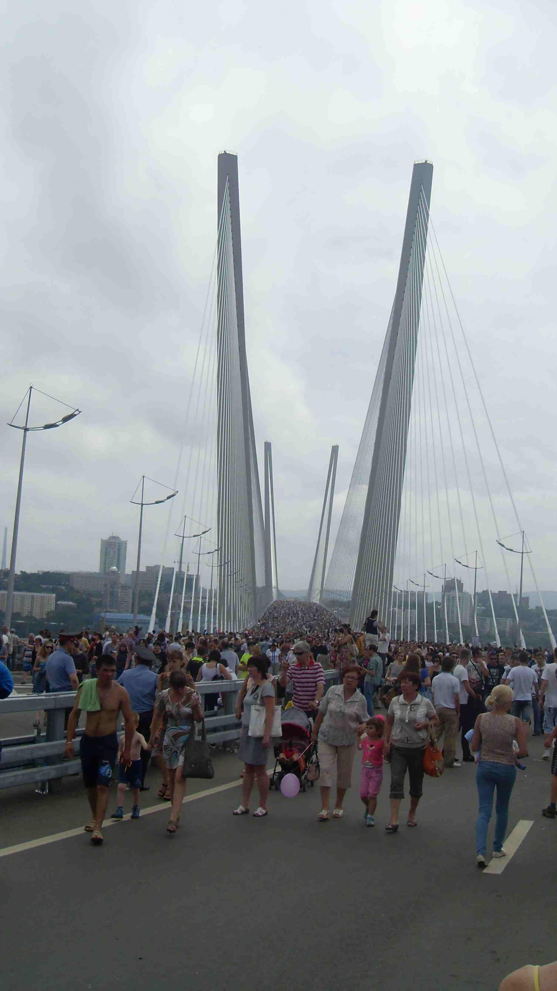 схема движения по развязке перед мостом на дефриз
