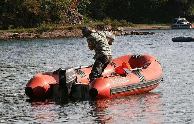 лодка риб из америке