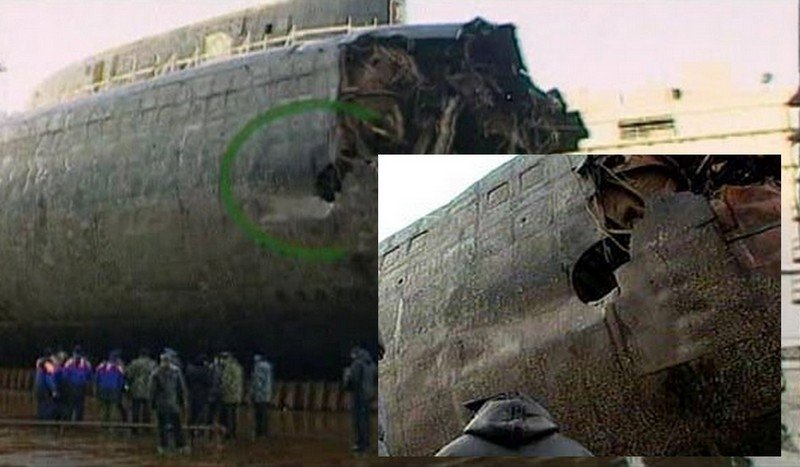 Подводная лодка курск видео написала