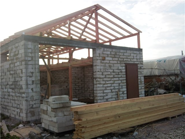Построить гараж из панелей