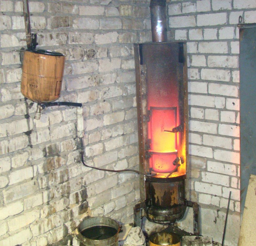 Печь в гараже своими руками фото 6
