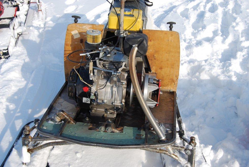 Доработка снегохода рысь своими руками 30