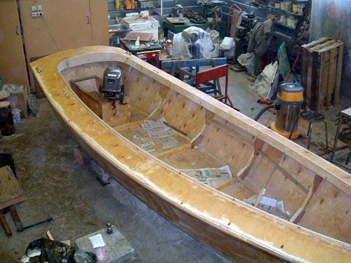 Лодки из фанеры под мотор своими руками чертежи