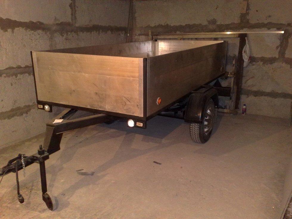 лодочный или грузовой прицеп