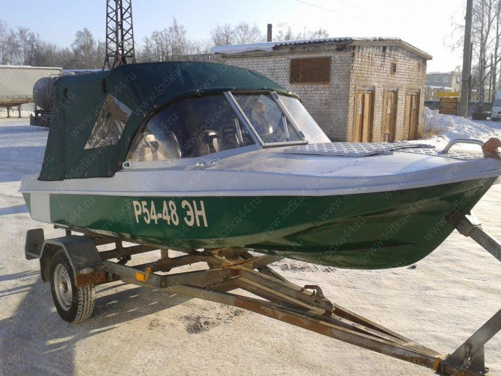 Обь - моторная лодка алюм сплав
