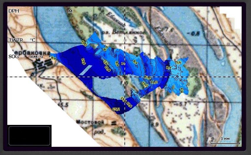 как нарисовать карту на lowrance 7hdi