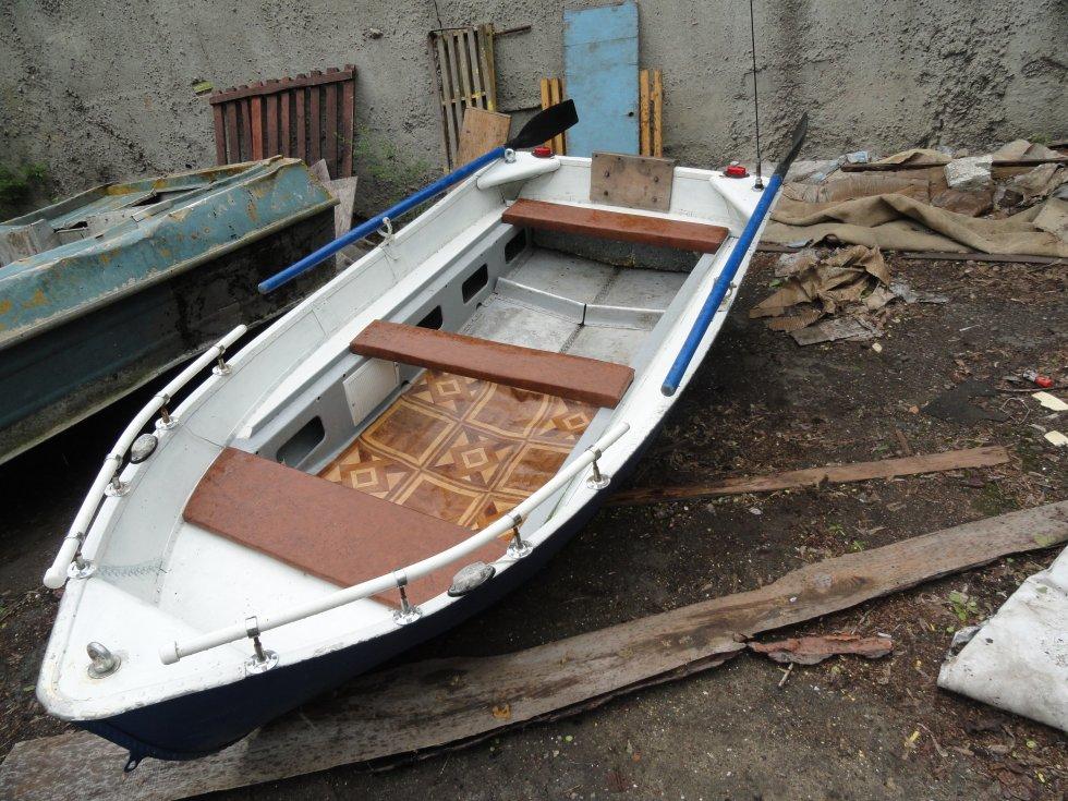 Лодка ерш своими руками 74