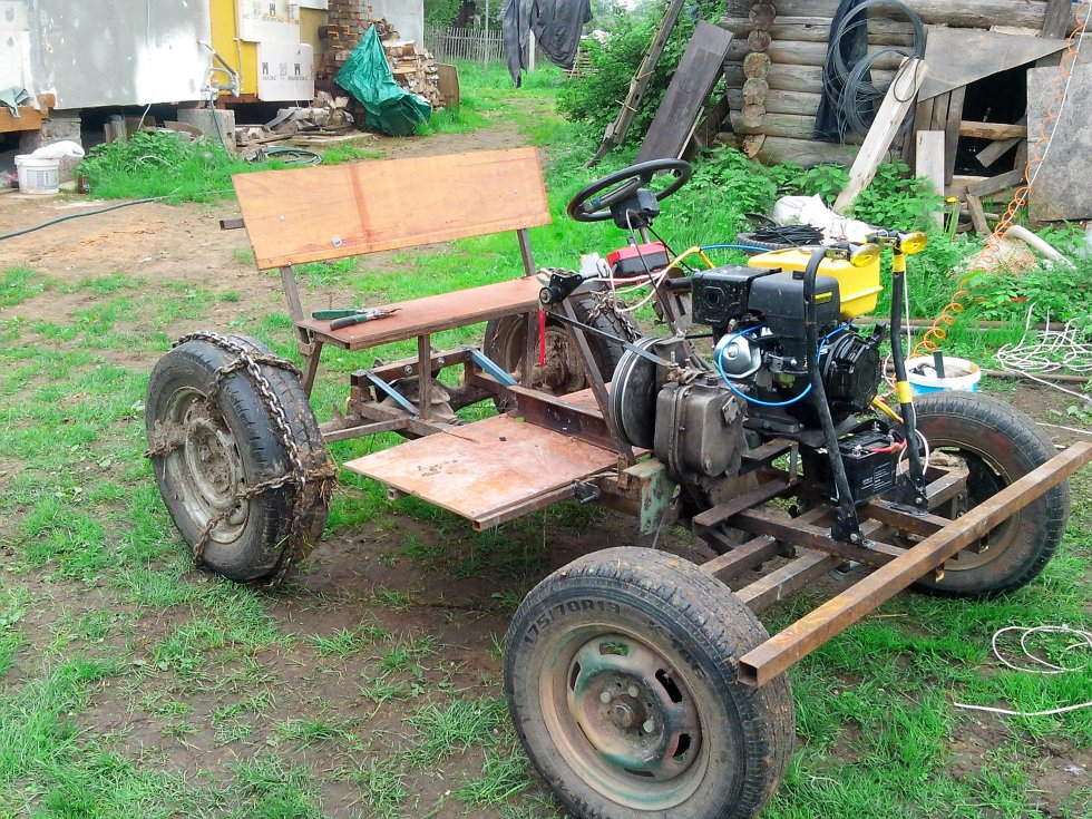 Сайт наших самодельных тракторов