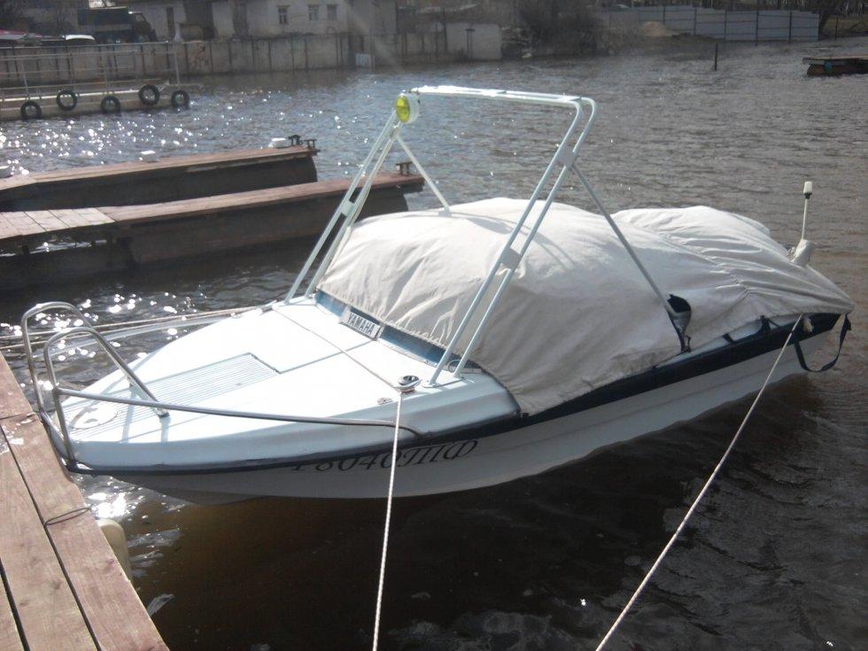 самодельная тарга для лодки
