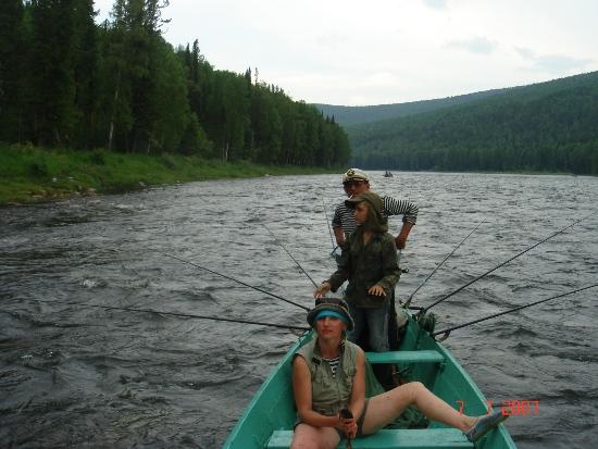 Рыбная река АГУЛ, Ирбейского района, Красноярского края