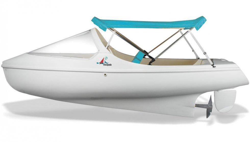 детская лодка с педалями