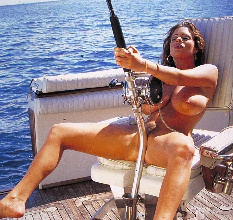 большие сиськи на рыбалке все для