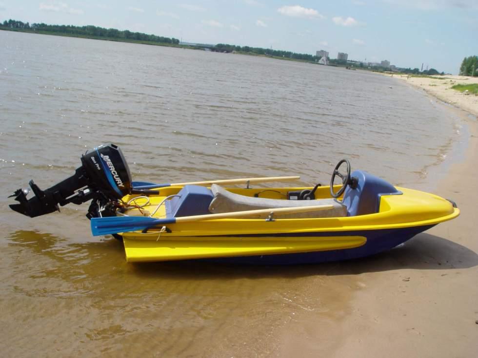 водный мотоцикл из лодки