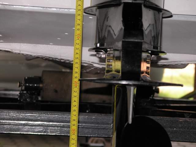 установка лодочного мотора на казанку 5м3
