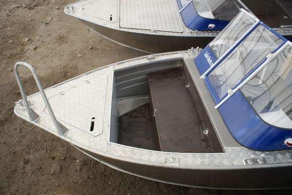 Тюнинг лодки салют 480 своими руками 46