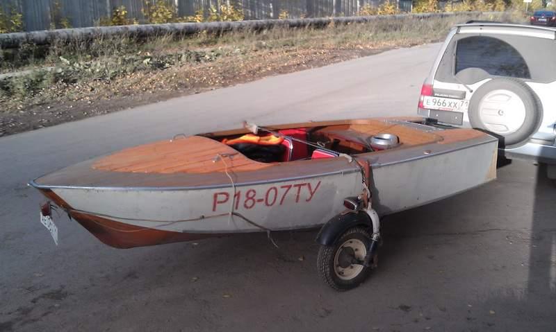 моторная лодка альга