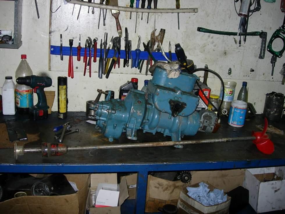 реверс редуктор лодочного мотора