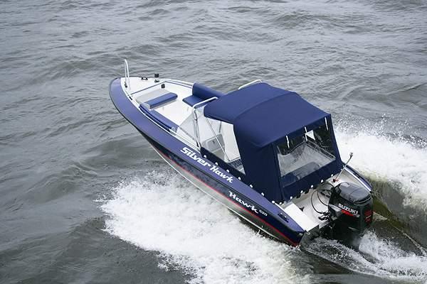 катера для рыбалки сильвер