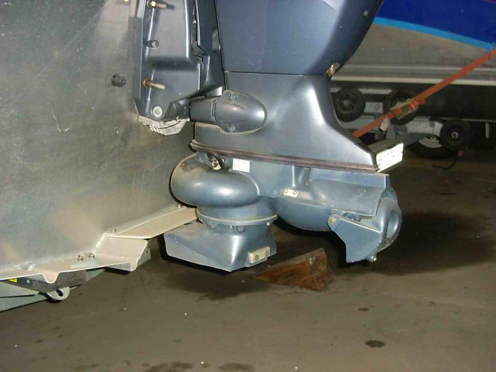 High Tech Защита подвесного лодочного мотора (ПЛМ)