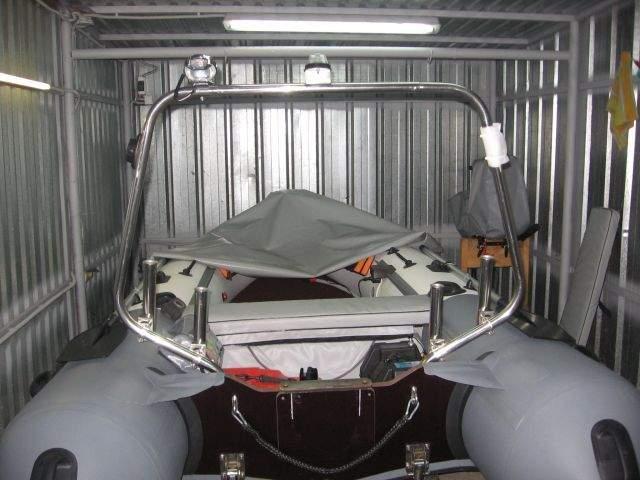 Кормовая консоль на пвх лодку своими руками