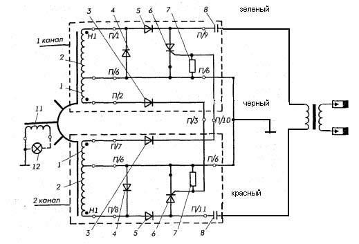 ветерок 12 схема контактного зажигания