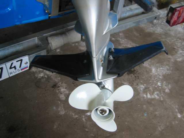 крыло на мотор лодочный своими руками видео