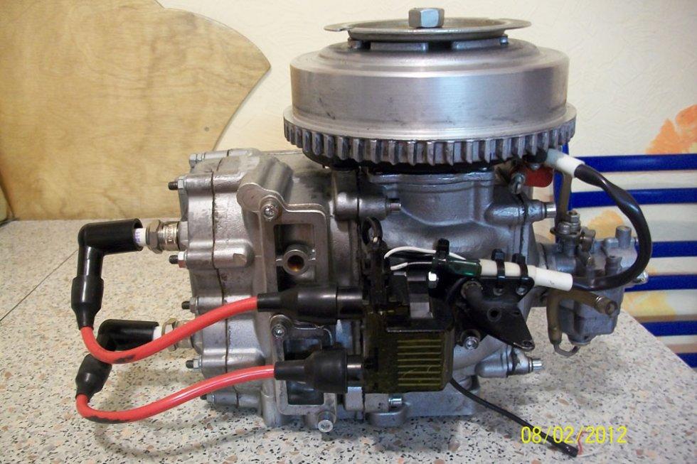Лодочный мотор от скутера своими руками 4