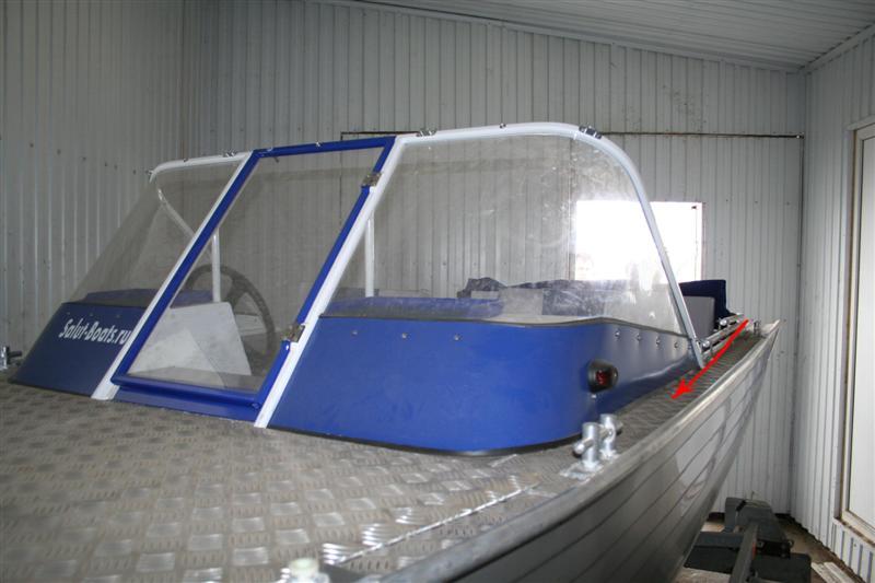 Тюнинг лодки салют 480 своими руками 84
