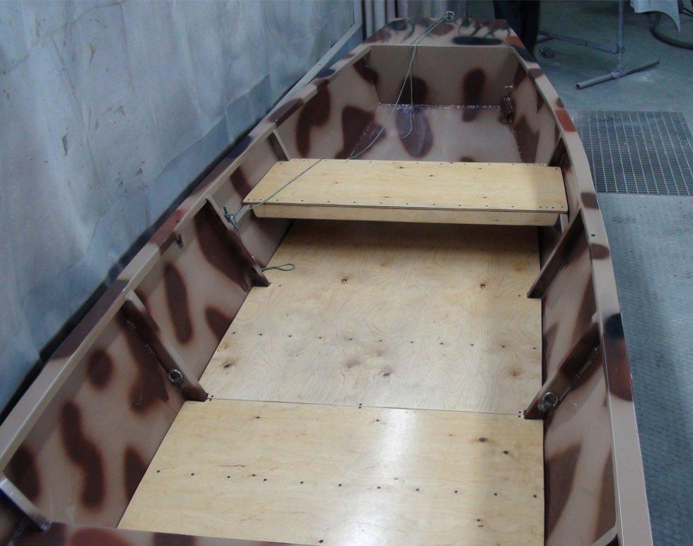 Дно из фанеры для надувной лодки своими руками