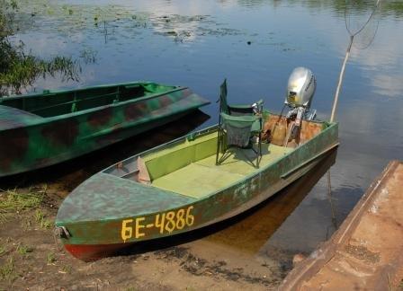 как укоротить лодку казанку