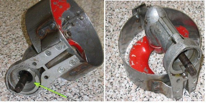 Мотор салют ремонт своими руками 25