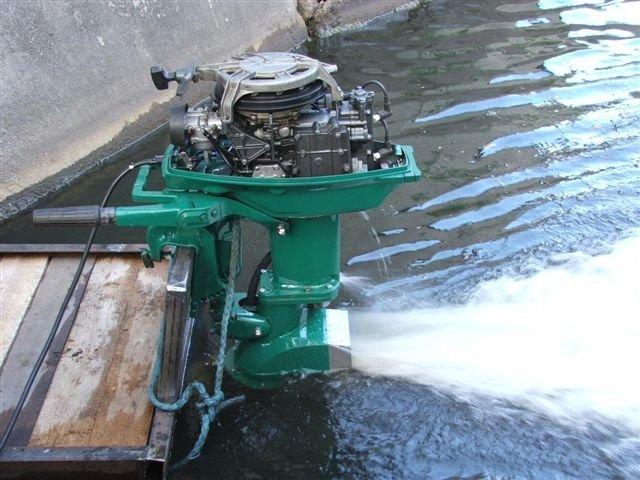 стационарный двигатель на лодку