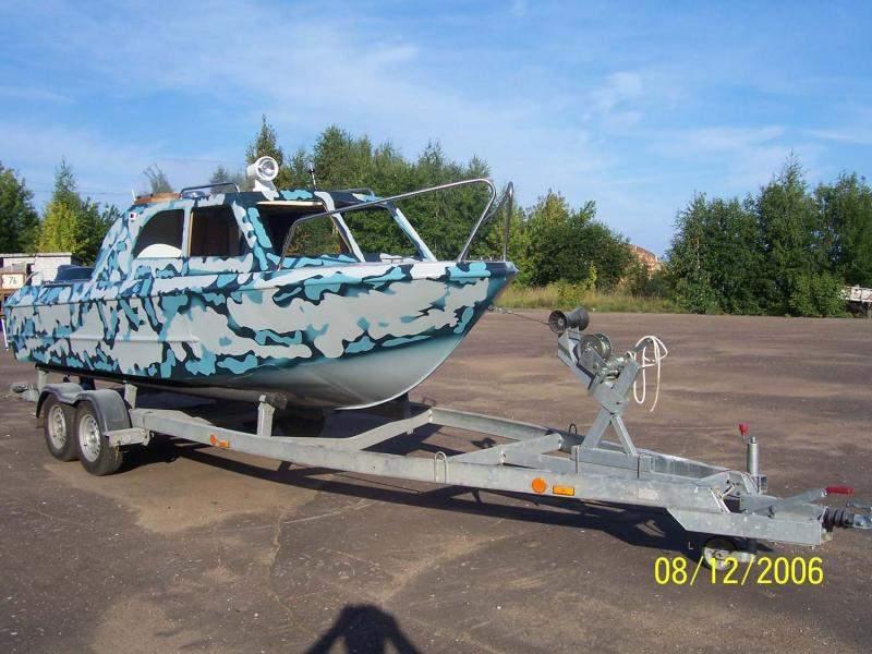 как раскрасить лодку фото