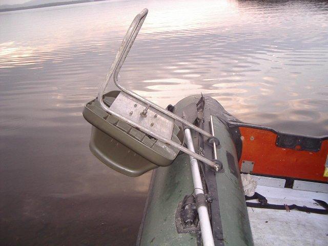 изготовление лебедки для лодки пвх