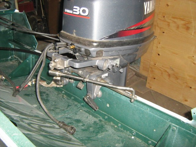 Установка ДУ. Регулировка тросов управления лодочным мотором