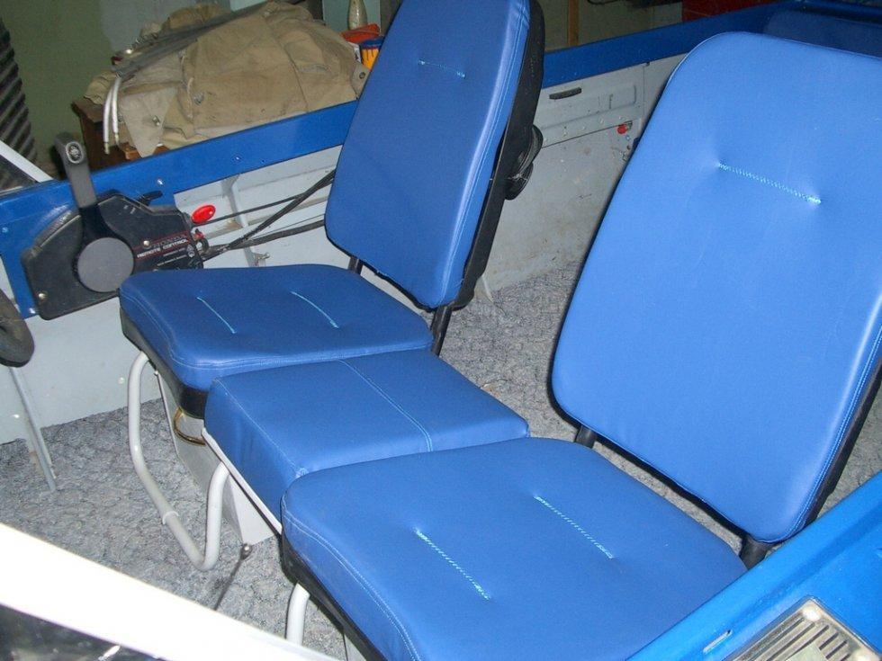 изготовление кресла в лодку