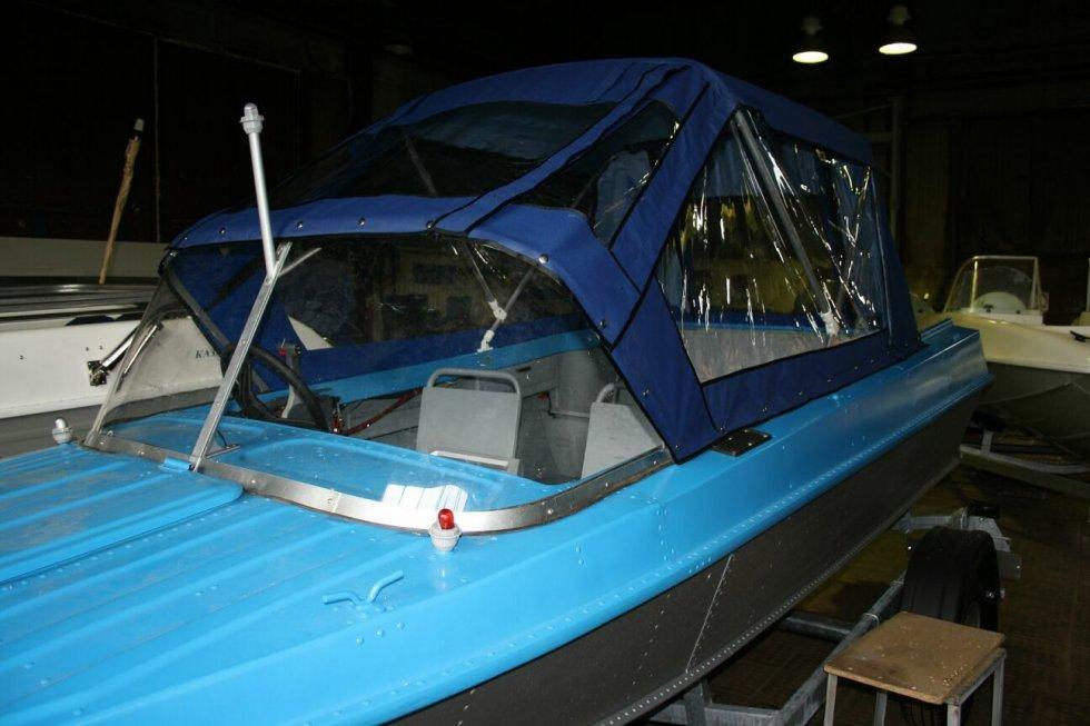 Тент на алюминиевую лодку своими руками 495